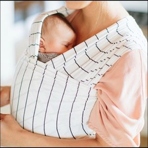 Solly Baby wrap in French Stripe